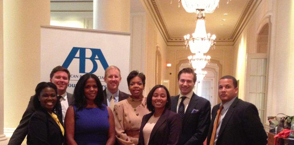 Maryland State Bar Association Young Lawyers Right After First Day Voting