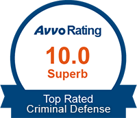 Avvo Top Rated Criminal Defense Attorney